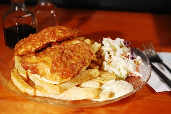 Yorky's Halibut and Chips