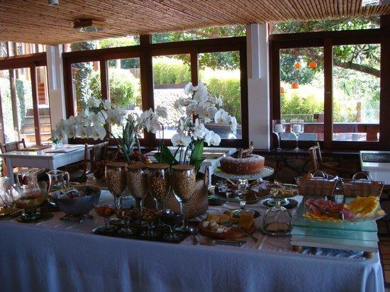 Quinta do Bucanero Hotel de Charme: Café da manhã