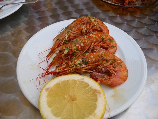 Restaurante Papitu: Gambas a la Plancha - best prawns ever