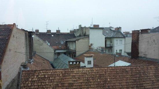 Bohem Art Hotel: Utsikt ifrån rummet