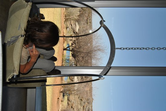 N/a'an ku se Lodge and Wildlife Sanctuary: the view from the mainhouse