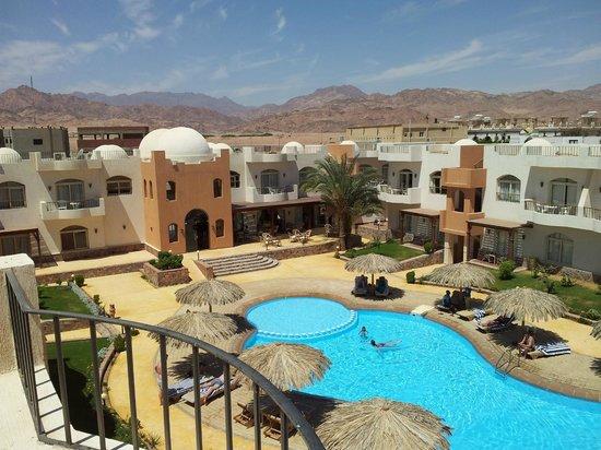 Sheikh Ali Dahab Resort: Blick vom Dach
