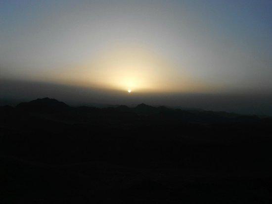 Sheikh Ali Dahab Resort: Mosesberg Sonnenaufgang