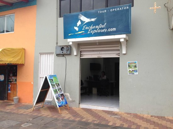 Enchanted Explorer: we are located in San Cristobal island