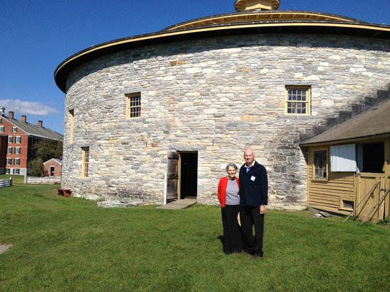 Hancock Shaker Village: Circular Stone Barn