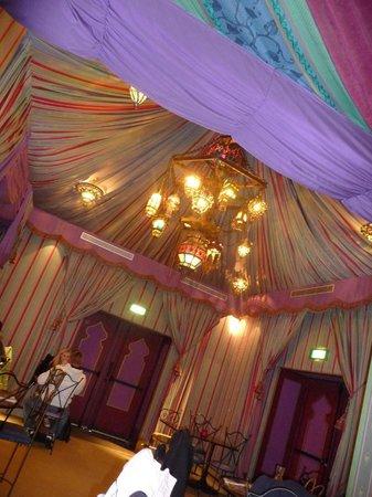 Agrabah Cafe: ambientación