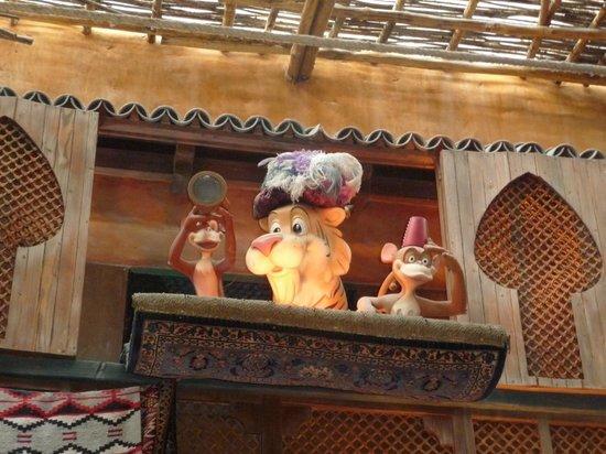 Agrabah Cafe: en el restaurante