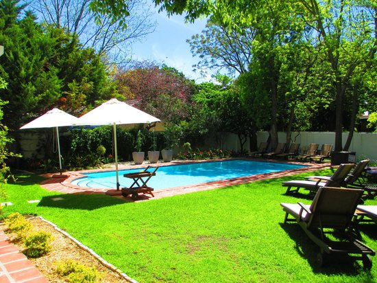 Summerwood Guest House: Pool and garden