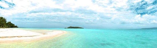 Aitutaki Escape: Our private island for the day