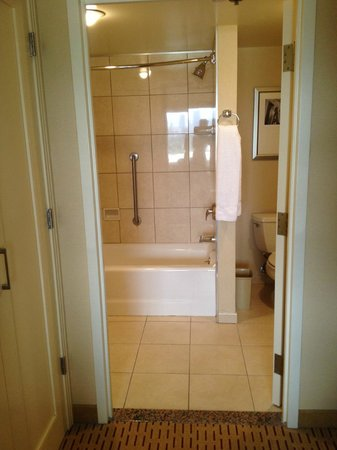 Anaheim Marriott Suites : Bathroom