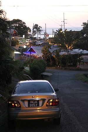Hibiscus Heights: view of village from main gate