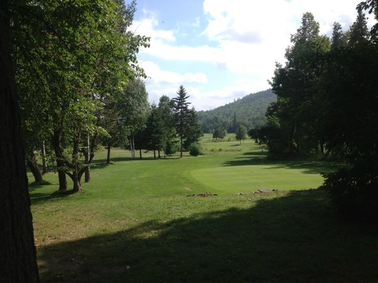 Calabogie Peaks Hotel: cottage is right on the golf course