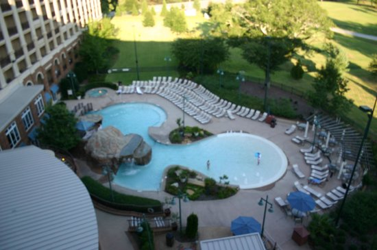 Marriott Shoals Hotel & Spa: pool area