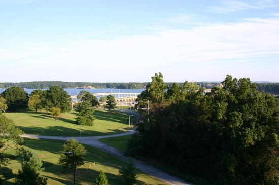 Marriott Shoals Hotel & Spa: view off the balcony