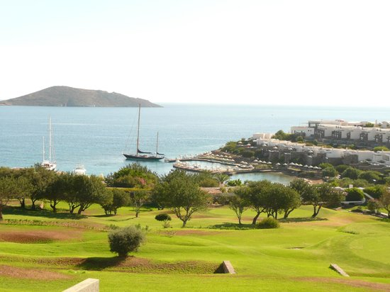 Porto Elounda Golf & Spa Resort: View from room