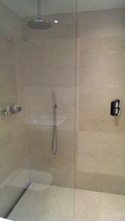 The Clarence: Great shower