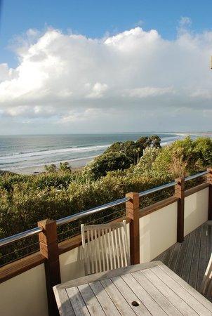 Ahipara Bay Motel : Ocean from our balcony.