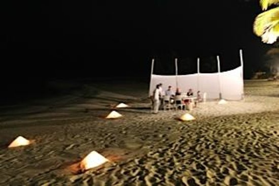 LUX* Belle Mare: Private Beach Dinner
