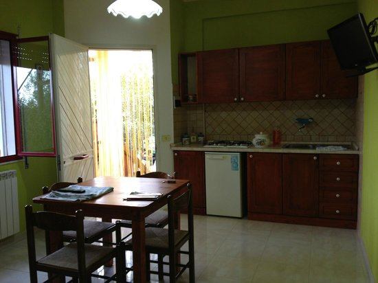 Soggiorno cucina - Foto di Azienda Montalbano, Sciacca - TripAdvisor