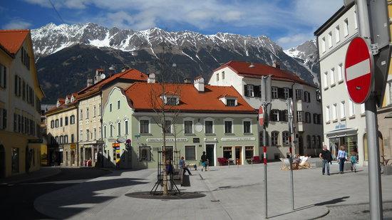 Street Scene Near Hotel Innsbruck