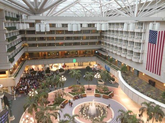 Inside Airport View Picture Of Hyatt Regency Orlando