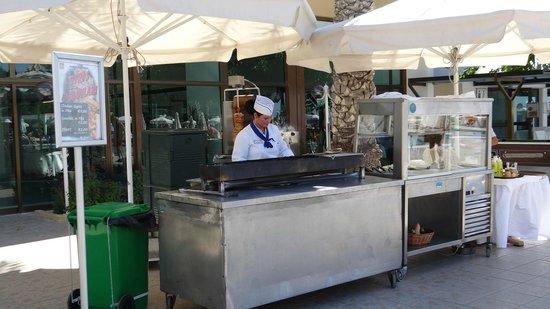 TUI SENSIMAR Pioneer Beach Hotel by Constantinou Bros: Kebab in the premises of the hotel