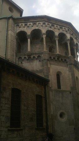 Basilica di San Fedele : Basilica San Fedele: l'Abside