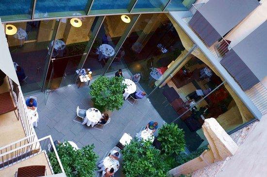 Mercer Hotel Barcelona : courtyard