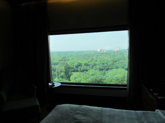 The Oberoi, New Delhi: Room with a view.
