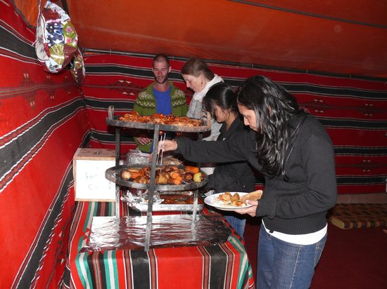 Bedouin Directions: Dinner at camp