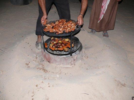 Bedouin Directions: Bedouin cooking style