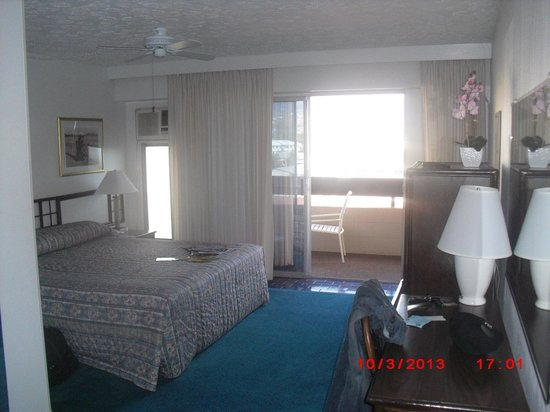 Kona Seaside Hotel : picture from the door
