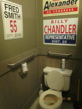 Louisiana Political Museum: Politically-themed decor - everywhere!