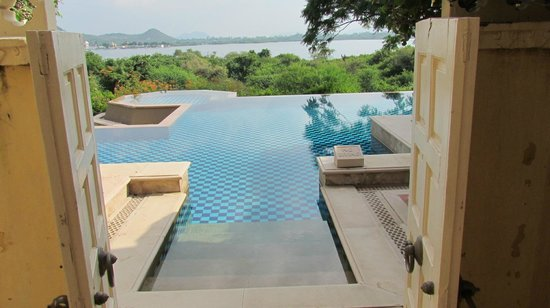 The Oberoi Udaivilas: Room with a view.