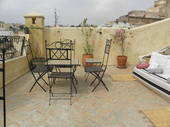 dar gnaoua: la terrasse