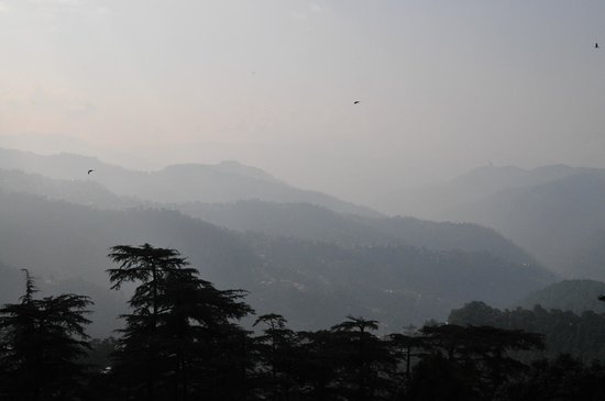 The Oberoi Cecil, Shimla : View from our balconey.