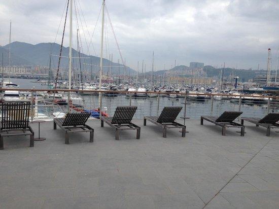 MarinaPlace Resort : terrasse commune