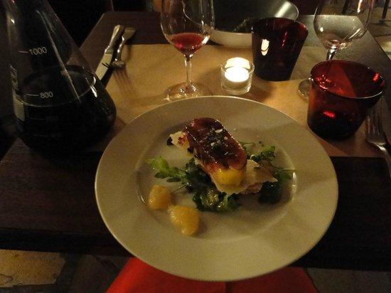 Le Bistro du Fromager : Фуа-гра с карамельной корочкой