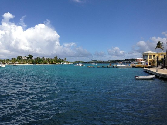 Angry Nate's: Protestant Cay - Christiansted Boardwalk from Angy Nate's