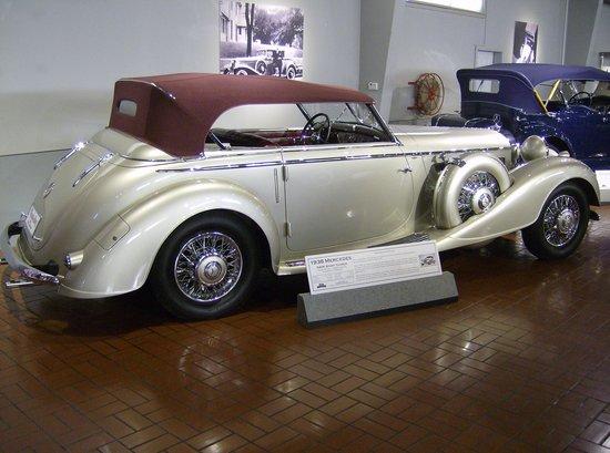 Gilmore Car Museum: 1938 Mercedes