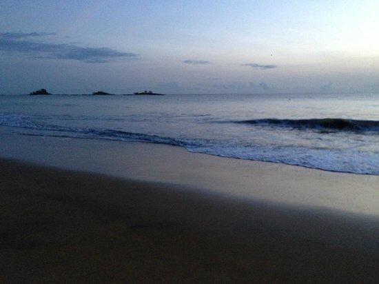 Grand Hotel Montabo : plage