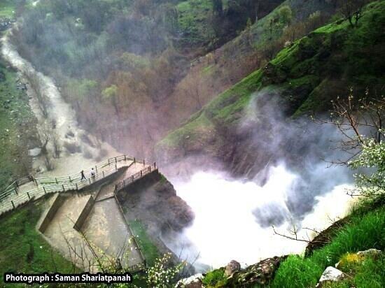 Shalmash Waterfall: sardasht