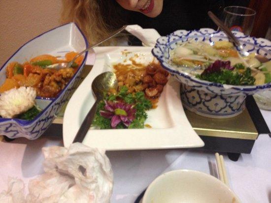 Mr Hau: Our exceptional tasty food!