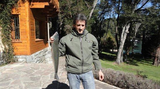 Millaqueo Luxury Villa: Pesca en Millaqueo