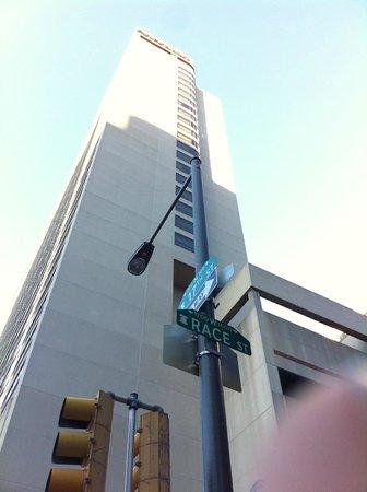 Sheraton Philadelphia Downtown Hotel : Få kvartaler til kongressenter og handlegater