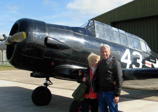 Goodwood Warbird Flight Experience: Getting ready