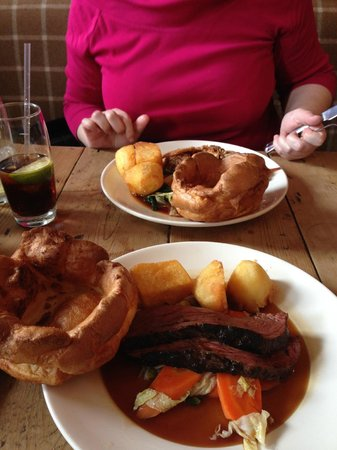 The Pig and Butcher: Sunday Roast at the Pig & Butcher  YUM!