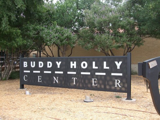 The Buddy Holly Center: Sign