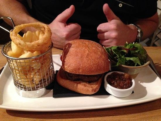 The Angel Inn: meal in hotel