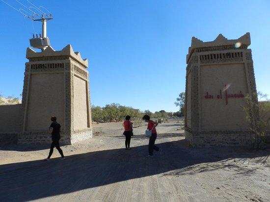 Dar El Janoub: arrivo albergo